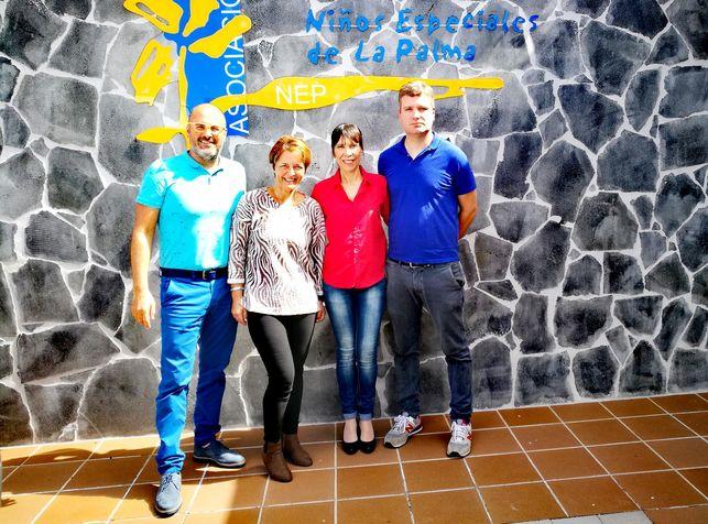 Tijarafe firma convenio con NEP para la VII Full Moon Trail