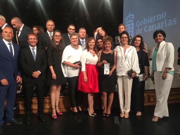Niños Especiales de La Palma recibe su Medalla de Oro de Canarias