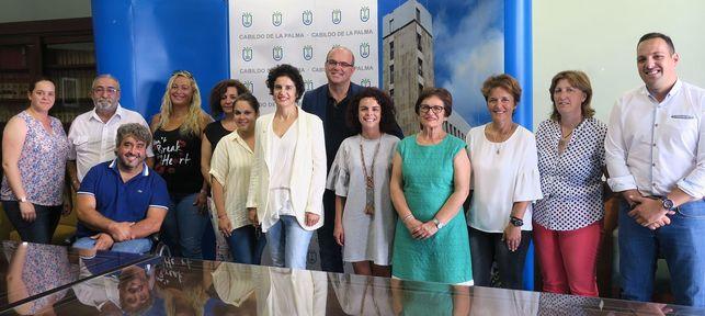 Cabildo palmero aporta 400.000€ a entidades de atención a la discapacidad