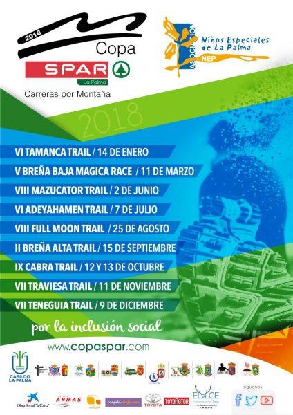 Asociación NEP Cartel Copa Spar Pro NEP 2018