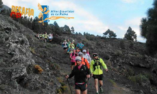 Breña Baja en el VI Desafío GR 130 por los Niños Especiales de La Palma