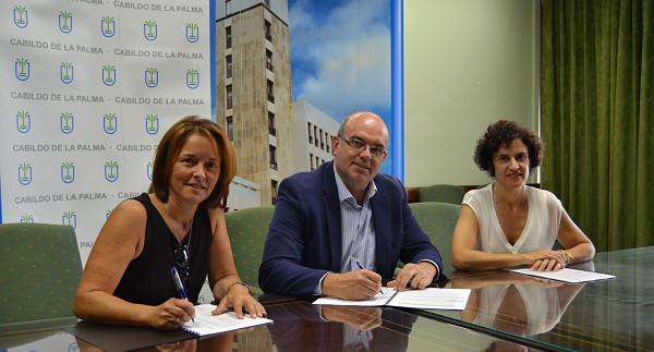 El Cabildo apoya a NEP La Palma para prestar el Servicio de Estimulación Temprana