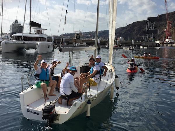 Bautizo de vela para 17 personas con discapacidad en La Palma