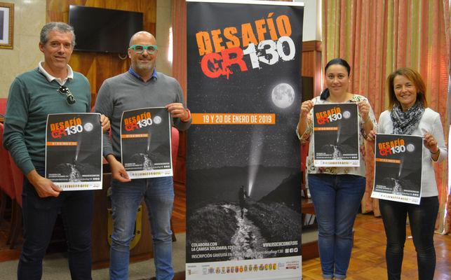 El Desafío GR-130 reunirá a deportistas y senderistas para recorrer la Isla en beneficio de Niños Especiales de La Palma