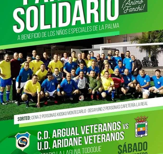 Partido de fútbol solidario