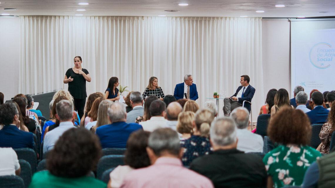 Asociación NEP participa en el encuentro de Acción Social de CaixaBank en La Palma