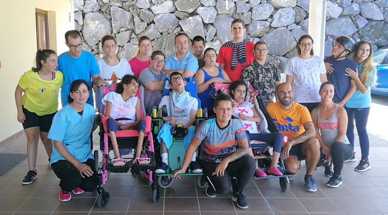 NEP y Cabildo de La Palma y cooperan en la gestión de las 15 plazas del Centro de Día y en un proyecto de atención integral a personas con discapacidad