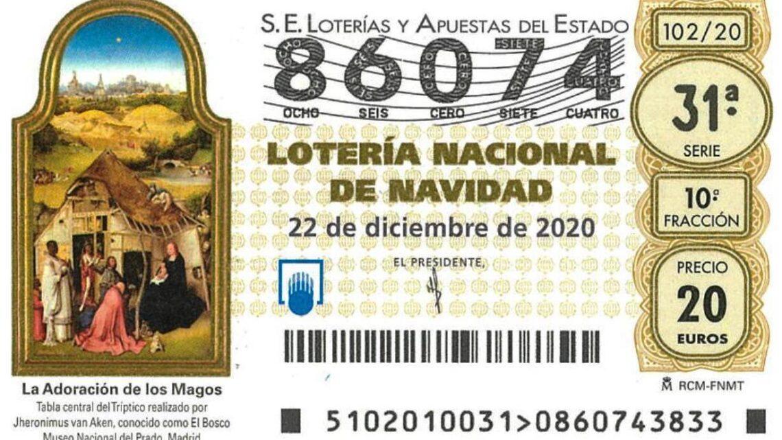 ¿Y si este fuera el Gordo?: Décimo de lotería de Navidad de NEP