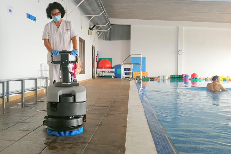 Asociación NEP cuenta con nuevo equipamiento para el mantenimiento de sus instalaciones