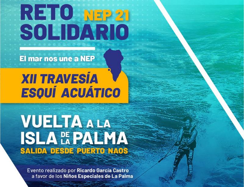 Presentación de la XII Travesía Esquí Acuático, reto solidario a beneficio de la asociación NEP